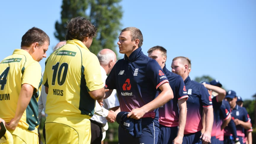 Chris Edwards will captain England against Australia
