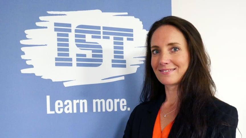 Jennie Flodin, ny Head of Consulting Services för IST AB