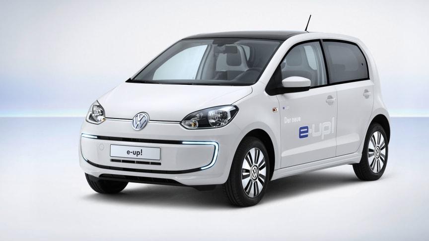Säljstart för Volkswagens nya elbil e-up!