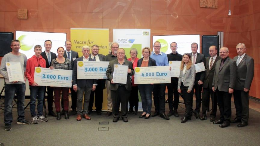 Engagement für Energiewende gewürdigt - Bürgerenergiepreis Unterfranken 2019