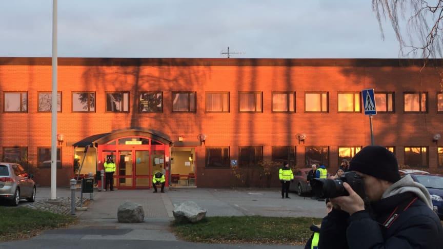 På Migrationsverkets förvar i Märsta har det konstaterats smitta