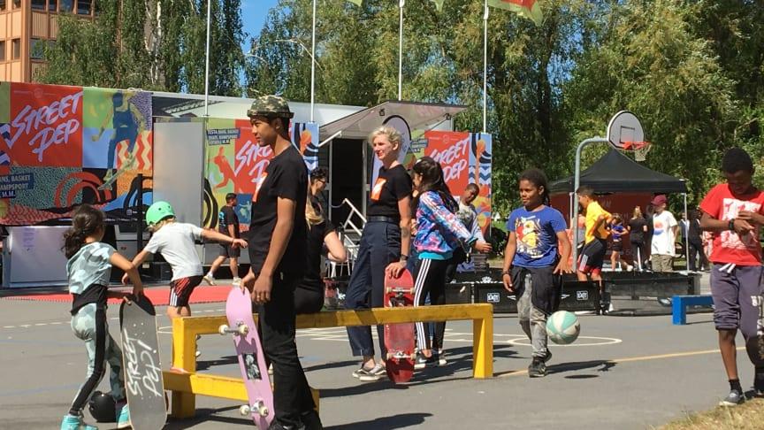 Street Pep på plats i Enskededalen 2018