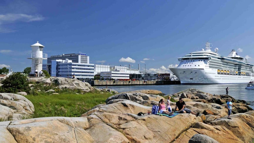 Gothenburg cruise season now under way