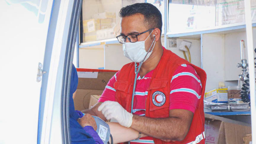 DSV supports Red Cross efforts in Cox's Bazar during pandemic
