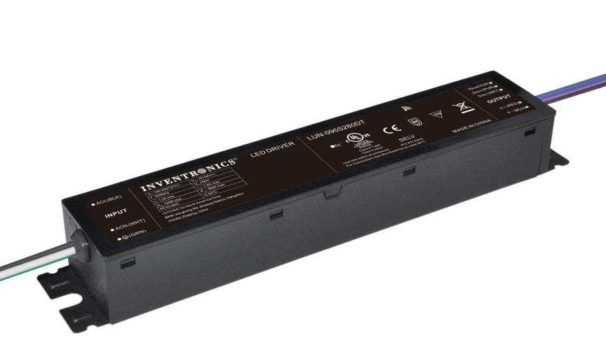 Nytt 95w NFC-programmerbart, IP54-klassat LED-drivdon