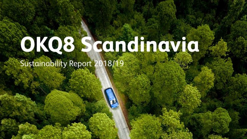 Sustainability Report fra OKQ8 Scandinavia
