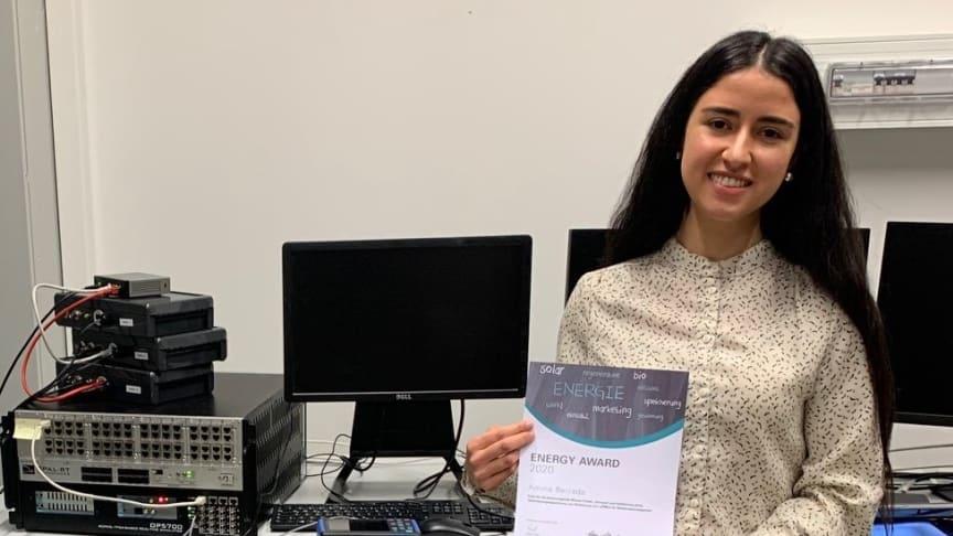 Jungakademikerin der Fachhochschule Bielefeld treibt Energiewende voran und erhält Energy Award 2020