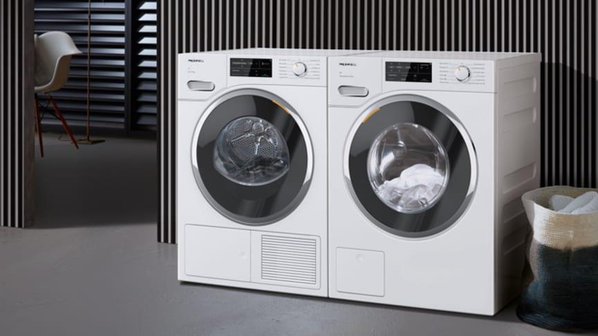"""Mieles nya tvättmaskiner och torktumlare – snabbare, bekvämare och """"grönare"""""""
