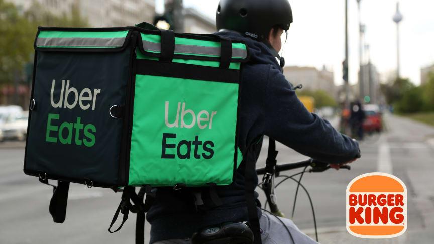 Burger King® weitet strategische Partnerschaften zum Ausbau seines Lieferservice-Angebots aus und kooperiert mit Uber Eats
