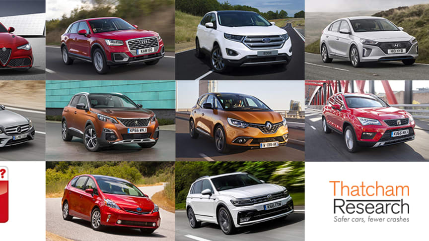 Top ten safest new cars of 2017: What Car? Safety Award long list announced
