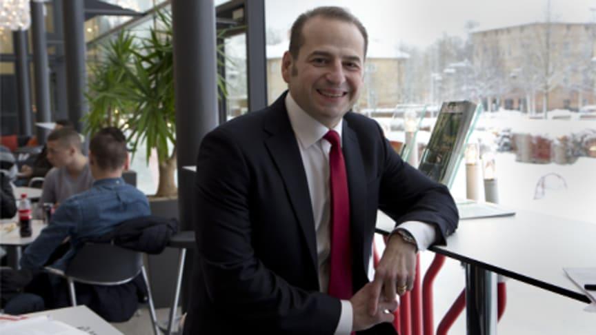 Sanimir Resic ny rektor på Högskolan Kristianstad