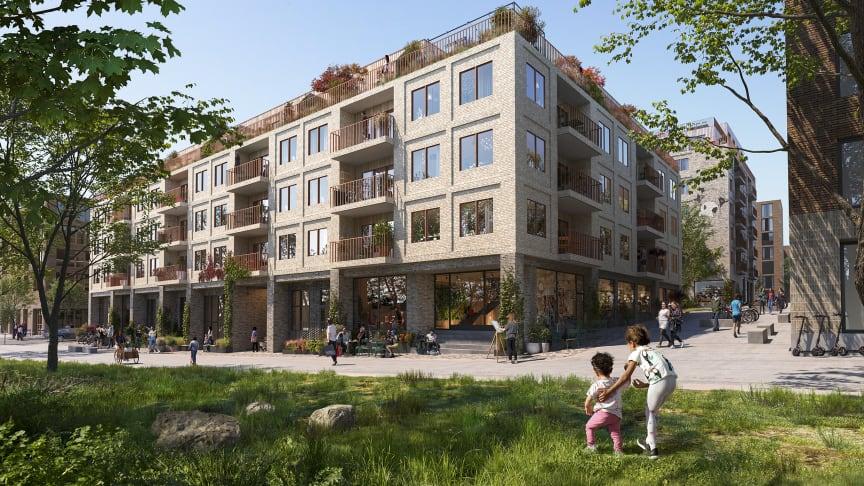 Industri och hälsa inspirerar nytt kvarter i Slakthusområdet. Arkitema ritar för Selvaag bostad i etapp 3 av stadsutvecklingen i Slakthusområdet i Stockholm.