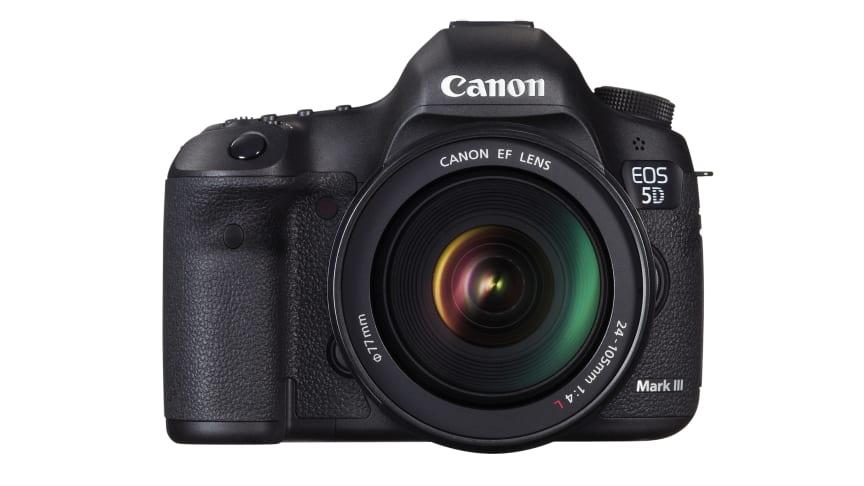 Canon lanserer et nytt ikon - EOS 5D Mark III