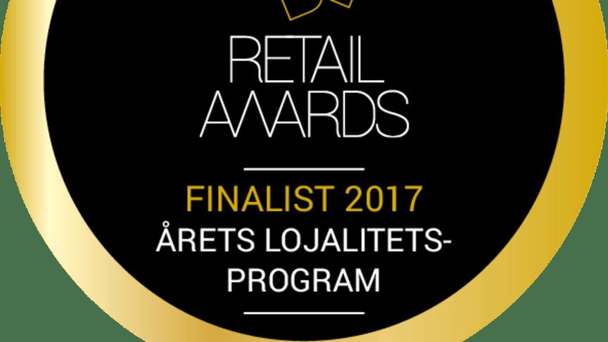 Retail Awards 2017: Cervera Club finalist i kategorin Årets lojalitetsprogram