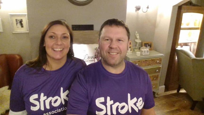 Uttoxeter stroke survivor takes on Resolution Run for the Stroke Association