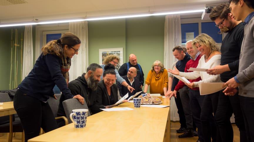 På mötet enades krögarna om att bilda ett krögarråd, och att alla som driver restaurang i Lidköpings kommun ska vara välkomna som medlemmar.