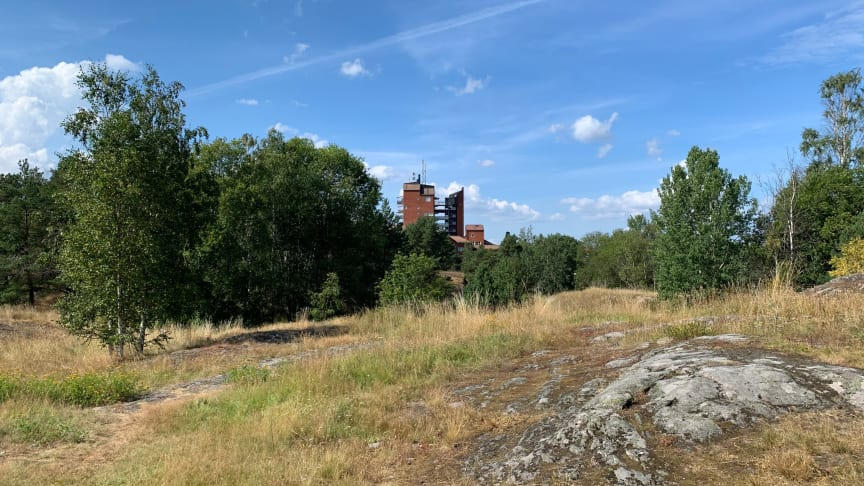 Här kommer Riksbyggen att uppföra det nya kvarteret. Foto: Fojab arkitekter