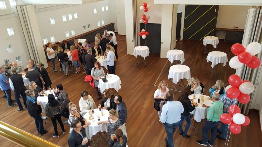 Bureau Veritas-ansatte besøger de nye lokaler i Fredericia