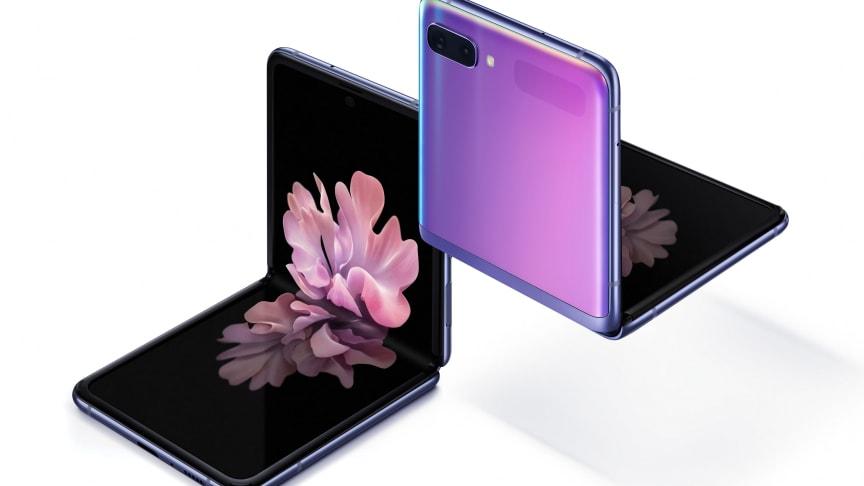 Nu finns Galaxy Z Flip i butik – upplev Samsungs senaste innovation med vikbar glasskärm