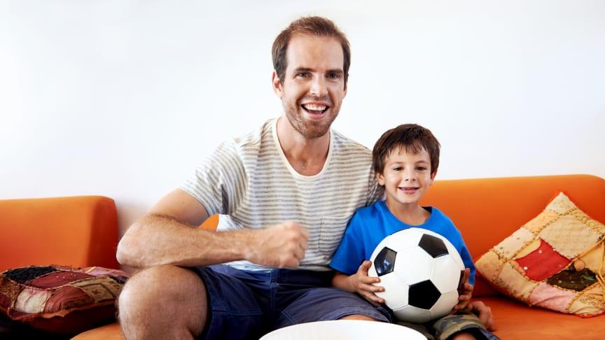 Salget av store TV-skjermer har steget markant i perioden opp mot årets fotball-EM.