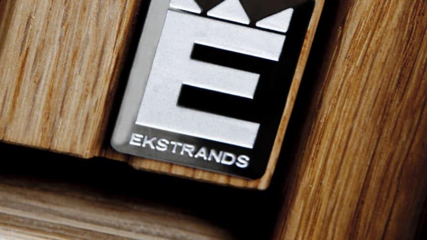 Ekstrands ytterdörrar har U-värde 0,69w som standard