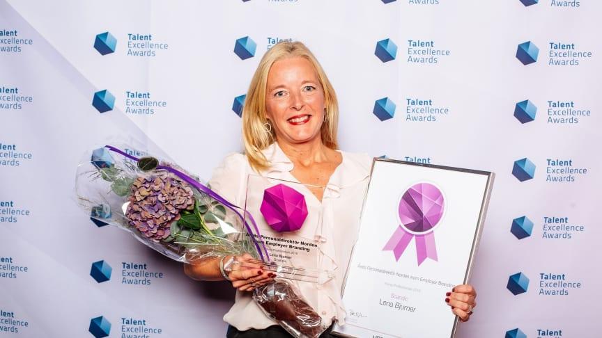 Lena Bjurner, SVP HR & Sustainability at Scandic Hotels
