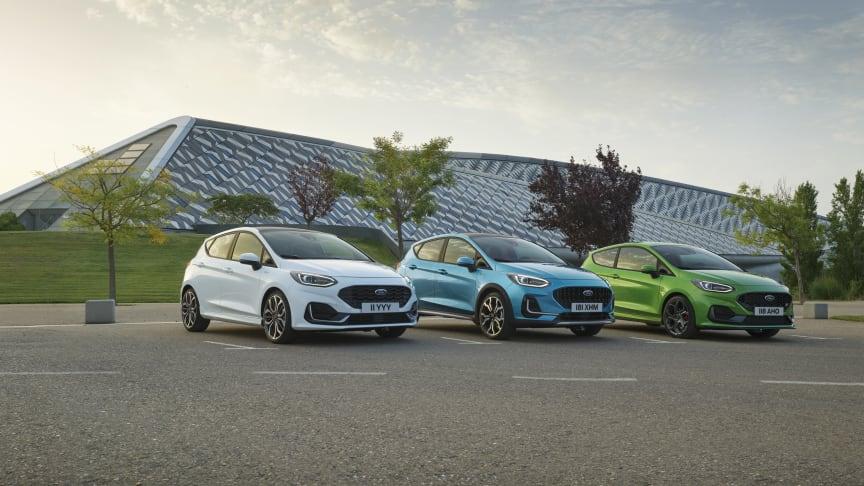 Ford prezintă Noua Fiesta conectată, electrificată, pregătită pentru viitor