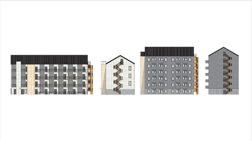 SBS planerar 340 nya lägenheter i Karlstad