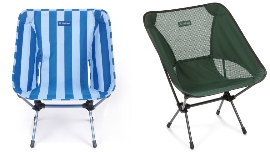 Helinox Chair One -retkituoli tuo mukavuutta retkeilyyn. Saatavana eri kuoseja.