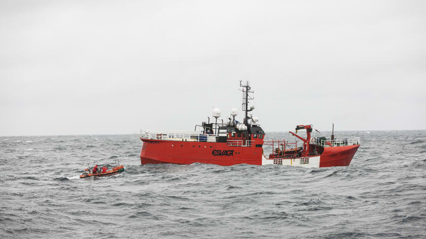 The 'Esvagt Preserver' has operated as service vessel in the North Sea for 30 years without a single leave of absence due to a work-related incident.