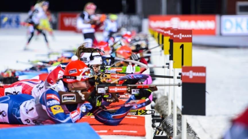 Viessmann sponsrar skidskytte-VM i Östersund 2019 Foto: IBU World Championships Biathlon 2019