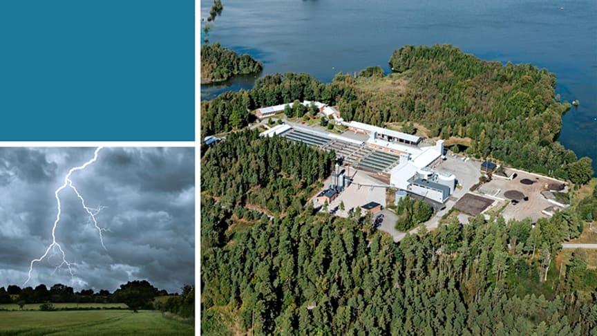Rapportframsida: Sunders biogasanläggning (Växjö kommun).