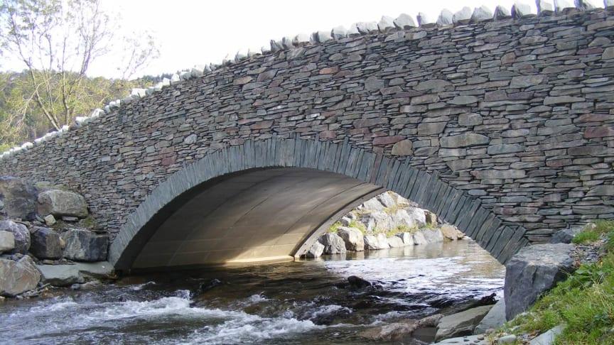 Ny teknologi tar den klassiska stenvalvsbron in i framtiden