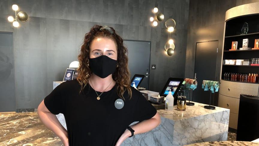 Nordic Choice Hotels slopar de obligatoriska munskydden