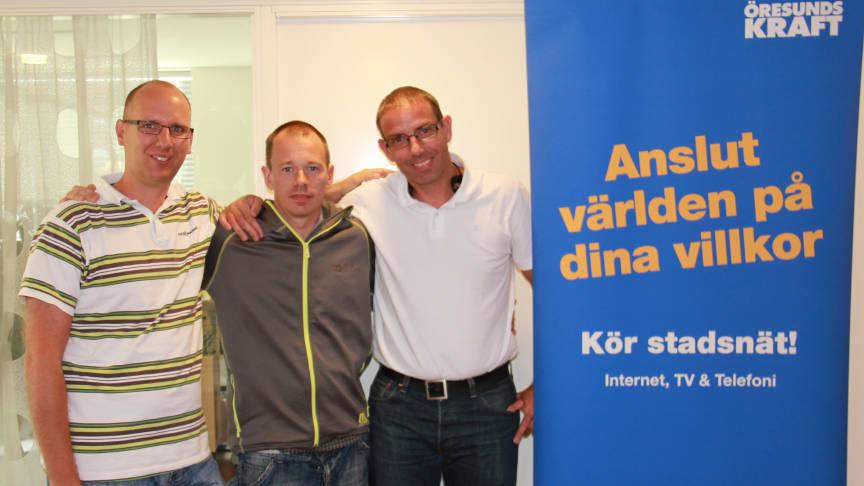 Villaägare i Påarp vann kamp om fiber