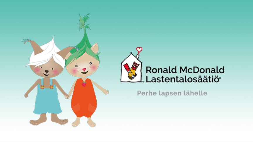 Lukulumo donates the magic of reading to Ronald McDonald House in Finland