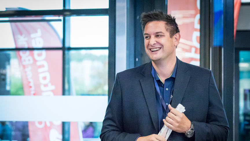 Administrerende direktør i Elkjøp Norge, Fredrik Tønnesen. Foto: Elkjøp Norge