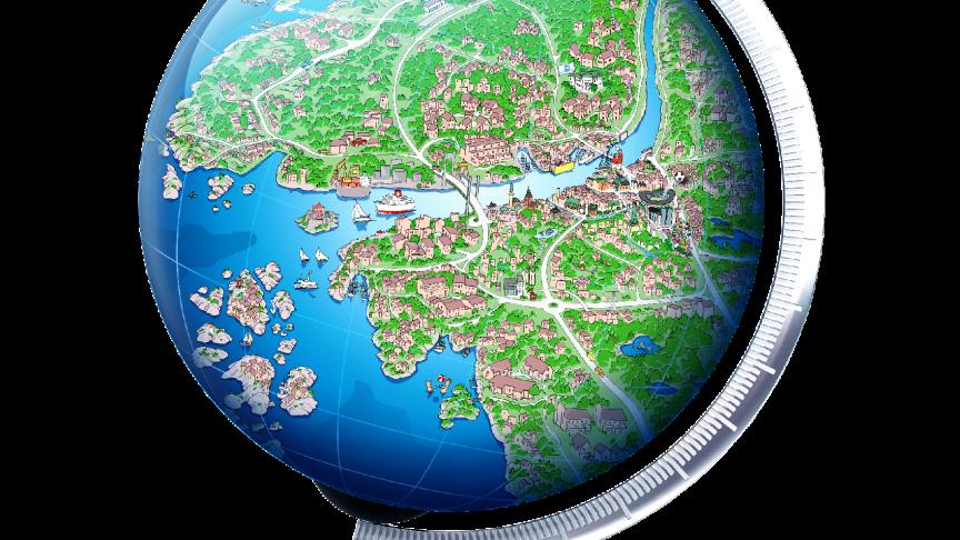 Egnahemsbolaget har rest runt i Göteborg i 80 år - Vi har bara Göteborg på kartan