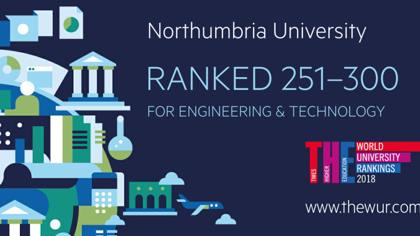 Northumbria's engineering courses ranked among best in the world