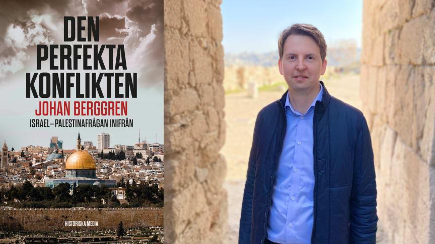 Nu släpps boken som analyserar vägen mot fred mellan Israel och Palestina
