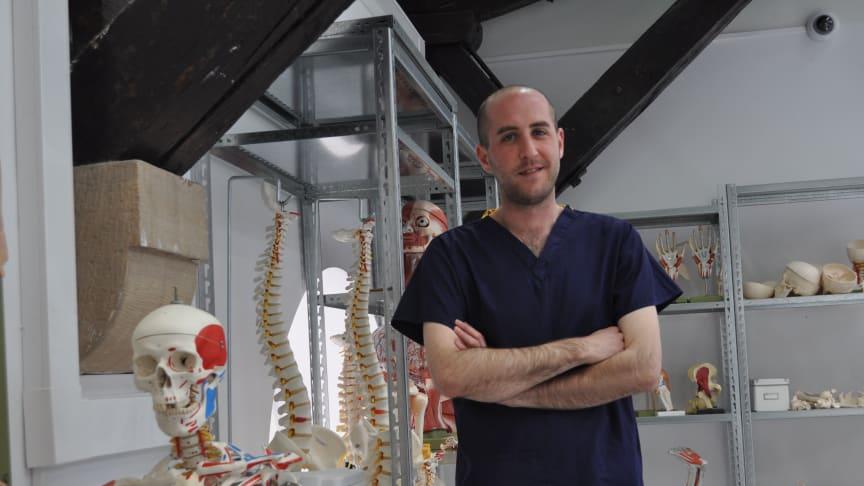 Northumbria anatomist returns to learning
