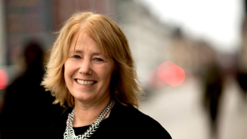 Johanna Frelin, vd Riksbyggen Foto: Magnus Fond