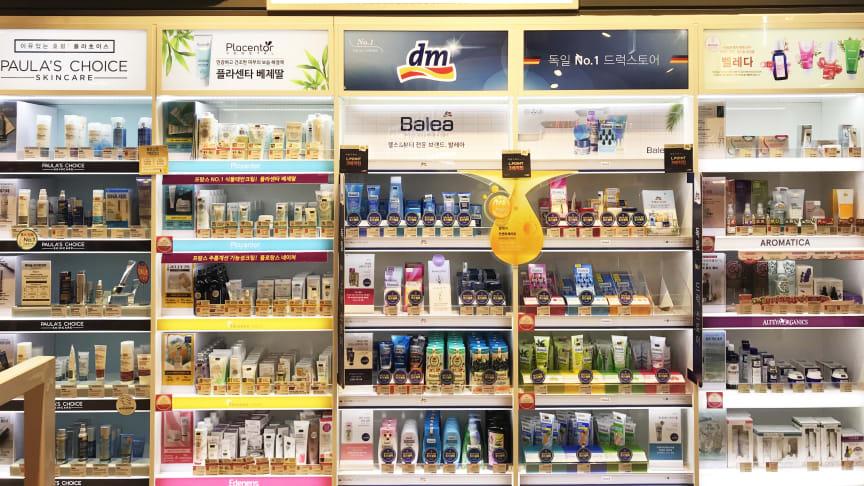 dm-drogerie markt kooperiert mit südkoreanischem Handelsunternehmen LOTTE