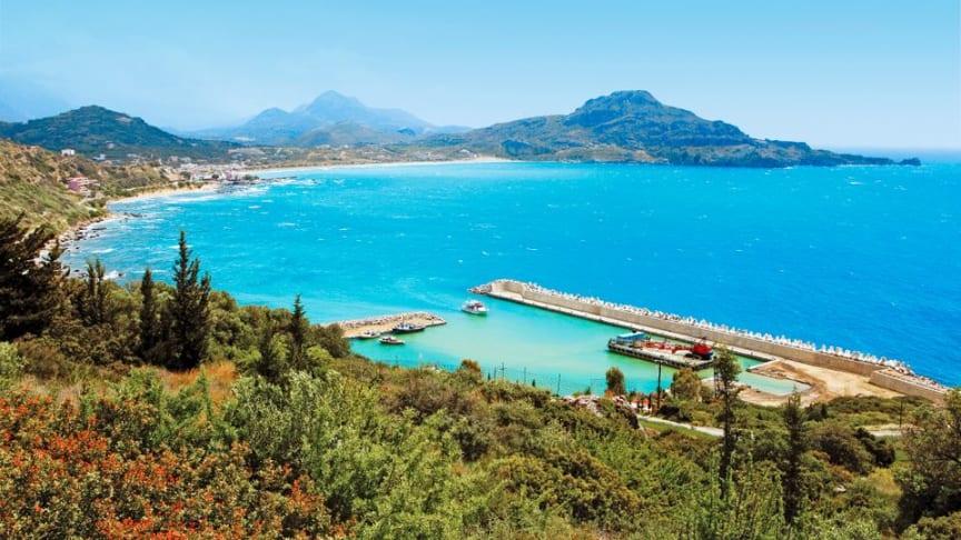 Nyhed! Apollo åbner for rejser til byen Plakias på Kreta