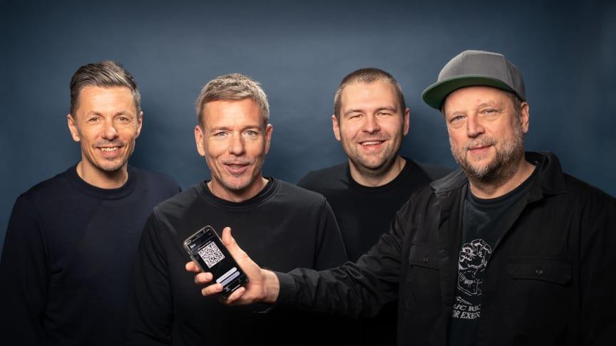 Die Fantastischen Vier und ihre luca-APP