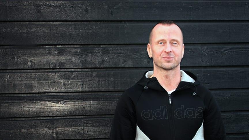 Carl Lagercrantz, projektledare på Klätterteknik