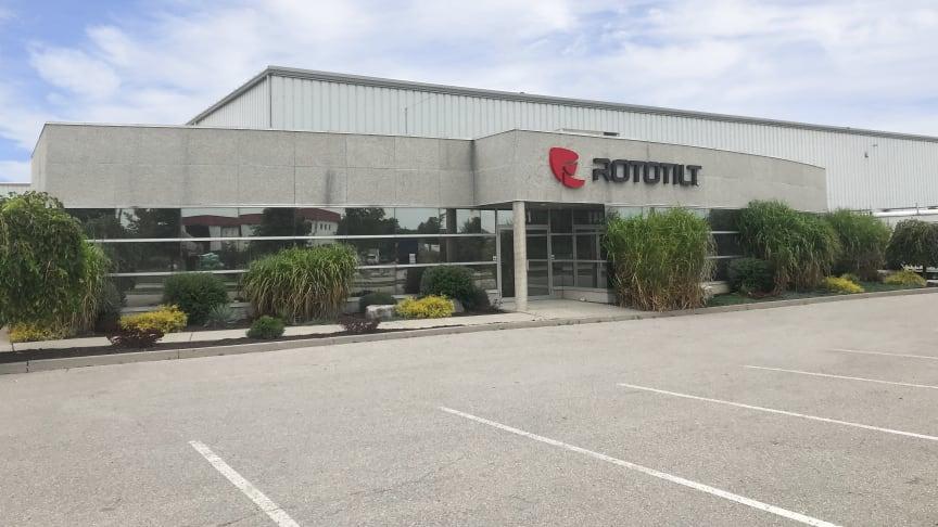 Nya huvudkontoret i Brantford, Kanada.