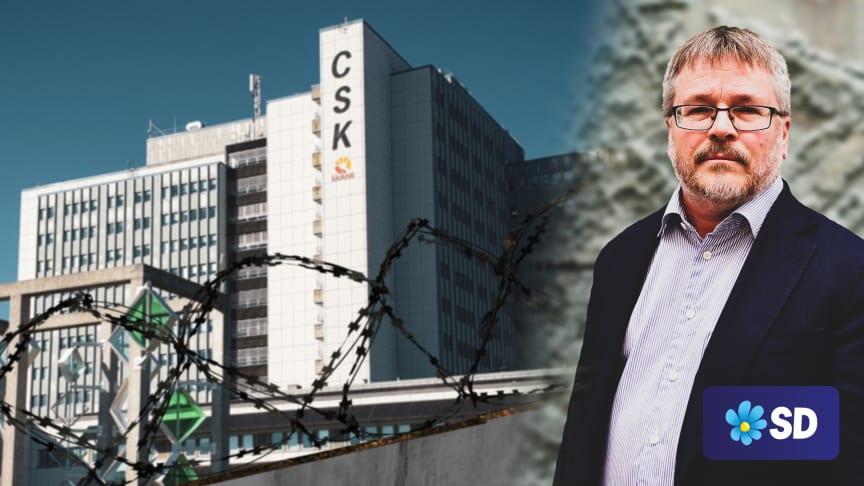Gated hospitals är fel sätt att hantera den systemhotande kriminaliteten