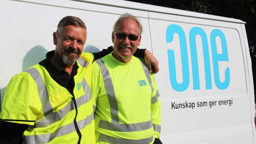 Christer Svensson och Tage Svensson ska jobba på hemmaplan i avtalet med Björkborns Industriområdes Samfällighetsförening.