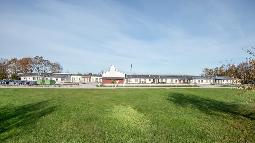 Äldreboendet Sudergården i Burgsvik på Gotland.